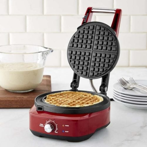 Breville BWM520CRN the No-Mess Classic Round Waffle Maker Review