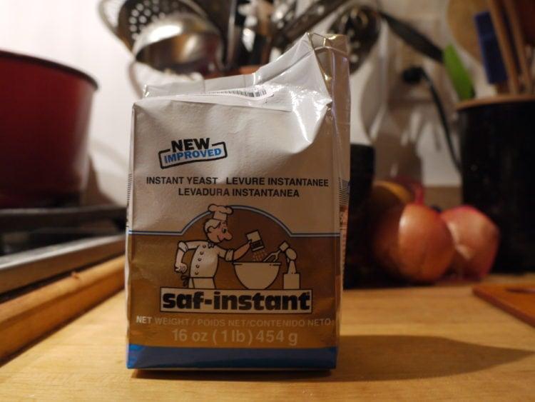 Instant yeast type