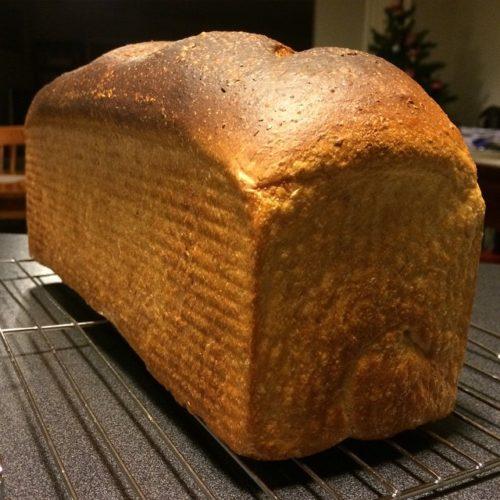 Milk and honey bread